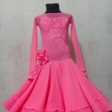 Платье для бальных танцев бейсик