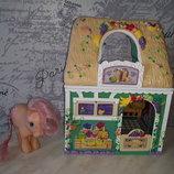 Шикарный домик магазин Little Pony Hasbro с лошадкой Литтл пони