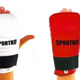 Перчатки для карате накладки карате Sportko NK2 2 цвета, размер S