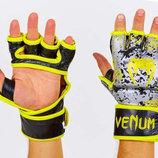 Перчатки для смешанных единоборств MMA Venum 5791 размер M-XL, кожа