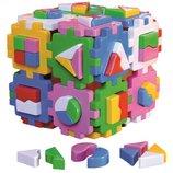 Игрушка куб Умный малыш Суперлогика Технок , арт. 2650