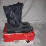 Сапоги термо Superfit Gore-Tex Австрия 37 размер по стельке 24,5 см.Кожаные, Зимние . В идеальном со