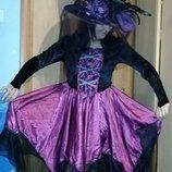 Карнавальное платье Колдуньи Ведьмочки взрослое.
