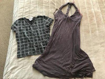 Платье и топ Morgan , Mango