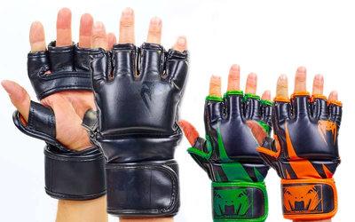 Перчатки для смешанных единоборств MMA Venum 5789 размер M-XL, 3 цвета
