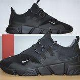 Кожаные мужские кроссовки Nike .