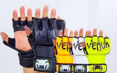 Перчатки для смешанных единоборств MMA Venum 5699 размер M-L, 4 цвета