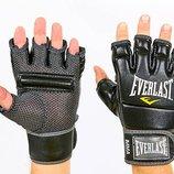 Перчатки для смешанных единоборств MMA Everlast 4402 размер L, кожа