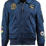 Куртка CWU Pilot X Alpha Industries синяя
