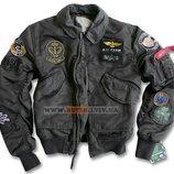 Куртка CWU Pilot X Jacket Alpha Industries черная