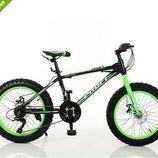 Детский сортивный велосипед 20 дюймов Фетбайк EB20POWER 1.0 S20.2