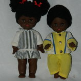 кукла гдр Бигги Biggi прямоножка пупс 2 шт