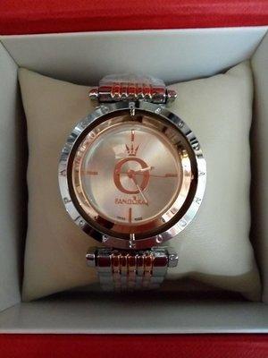 Часы женские Pandora с вращающимся циферблатом