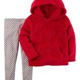 Леггинсы Теплый пуловер Carters для девочки. Набор из 2-х частей