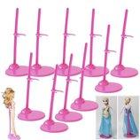 Подставка для кукол,стенд стойка для кукол Monster high Ever after high Disney Barbie