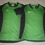 Фирменная Umbro спортивная футболка на 146-152 см климат контроль