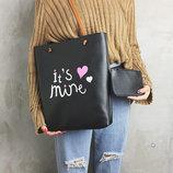 Большая сумка-мешок с кошельком IIts Mine В Наличии