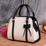 Элегантные трендовые сумки с бантиком для деловых женщин В наличии