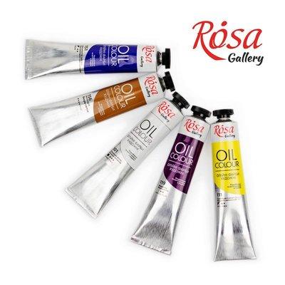 Краски масляные художественные ROSA Gallery фарби масло для рисования малювання живопис
