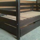 Кровать деревянная Нотка 90 190