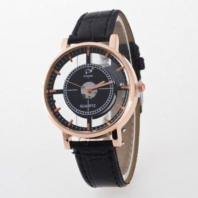 5b7d3d5162cee Оригинальные часы наручные женские прозрачные черные: 128 грн ...