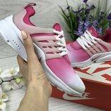 Кроссовки женские Nike Air Presto pink/white