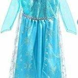 0012 Платье Эльза 2-4 года
