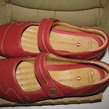 Tуфлі повністю шкіряні брендові Clarks Оригінал Німеччина р.6 стелька 25,5 см