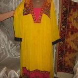 Платье-Балахон в восточном стиле