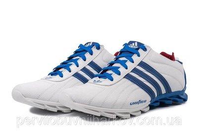 Кроссовки Adidas адидас мужские кожаные белые