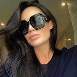 Шикарные женские солнцезащитные очки , тренд 2018 год , копия Gucci