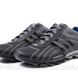 Кроссовки Adidas адидас мужские кожаные серые