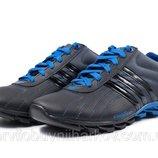 Кроссовки Adidas адидас мужские кожаные синие