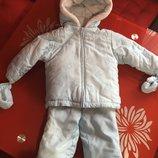 Куртка і штани зимові,зимний комбинезон,костюм,комбінезон 24міс Absorba