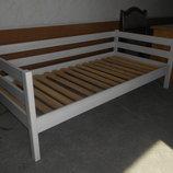 Деревянная Кровать 90 190 Нотка