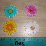 Пуговица декоративная Цветок 35 мм