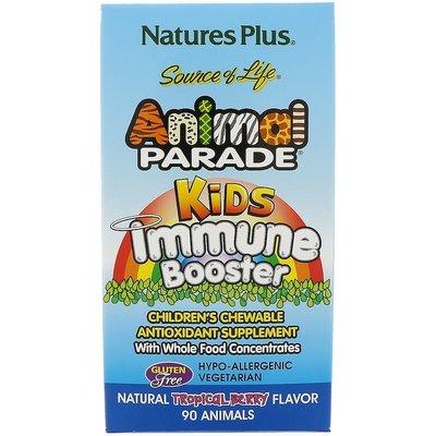 Nature's Plus Иммунобустер Жевательные таблетки для иммунитета, витамины.