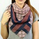 Новинка платок Турция бренд размер 95х95 см цвета