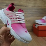 Кроссовки женские Nike Presto white/pink