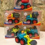 Рабочие мини-машинки Huile Toys