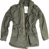Полевая куртка M-65 Alpha Industries Field Coat оливковая