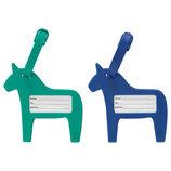 Бирка на багаж, синий/зеленый, 403.890.08 Vinter 2017 от Икеа Удачный выбор IKEA