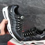 Кроссовки мужские сетка Nike 95 black/white
