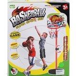 Баскетбол M 5441 стойка до 110 см, щит, кольцо, мяч