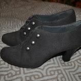 брендовые туфли Emilio Lucax 24.5 см 37-38 размер