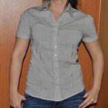 Классная стрейчевая блузка-рубашка