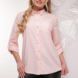 Элегантная женская батальная блуза m-1770