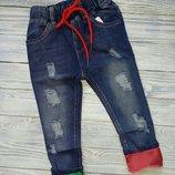 Классные джинсы на мальчика,р 110-120, демисезон