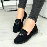 Женские туфли камни
