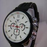 Мужские наручные Часы Emporio Armani на силиконовом ремешке